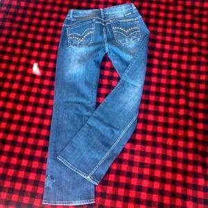 Cowgirl Tuff Star bootcut jeans 33X35